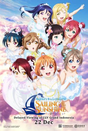 AQOURS 4TH LOVELIVE ! SAILING TO THE SUNSHINE