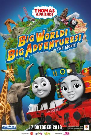 THOMAS & FRIEND : BIG WORLD! BIG ADVENTURES! THE MOVIE